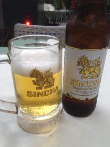 タイのビールと言えば、Singha
