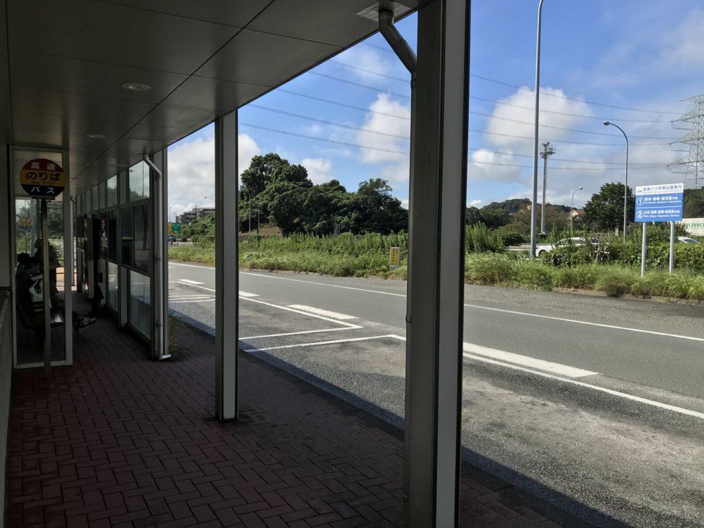 高速基山バス停(下り)