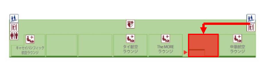 桃園国際空港4Fマップ